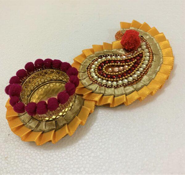 Leaf Shape Handmade Diya | Smiarts