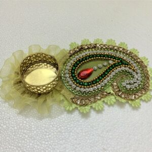 Traditional Leaf Shape Diya | Smiarts