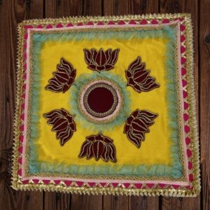 Lotus Printed Ready-made Rangoli | Smiarts