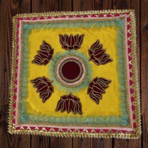 Lotus Printed Ready-made Rangoli | Smiarts