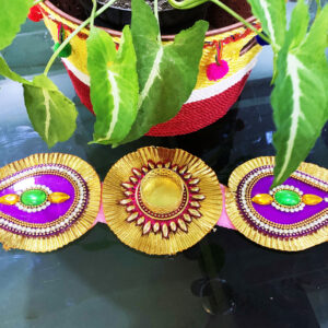 Folding Multi Color Diya | Smiarts