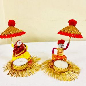 Smiarts Tealight Candle Holders Puppet Doll Candle Holder/Candle Stand/Candles Tea Light Holder for Home Living Room Diwali Decoration | Smiarts