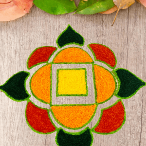Smiarts Fancy Multi Colour Arrangeable Rangoli for any Festival | Smiarts
